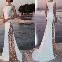 Women Formal Wedding Bridesmaid Evening Party Ball Prom Long Cocktail Dress Size S Bridal Dresses Online, Bridal Gowns, Wedding Bridesmaids, Bridesmaid Dresses, Wedding Dresses, Maxi Dresses, Formal Dresses, Style Feminin, Long Prom Gowns