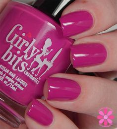 Girly Bits - 'Don't Paddle Break A Nail'  From the 'Hoop! There It Is' collection, available April 19th 2015 girlybitscosmetics.com