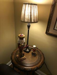 Christmas 2017, Table Lamp, Lighting, Home Decor, Homemade Home Decor, Table Lamps, Lights, Lightning, Decoration Home