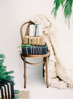 Image Via: Sarah Sherman Samuel | A Cozy Gift Swap Party with #Anthropologie