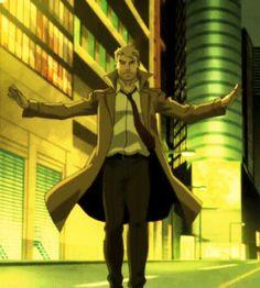 John Constantine - Justice League Dark Constantine Tv, Constantine Hellblazer, Young Justice Robin, Justice League Dark, Cassandra Cain, Tim Drake, Damian Wayne, Batman Robin, How To Train Your Dragon
