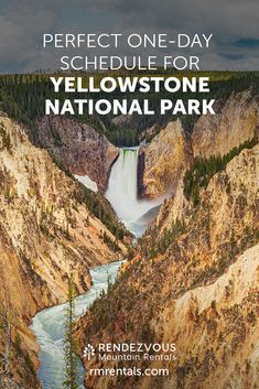 Perfect One-Day Itinerary for Yellowstone National Park California National Parks, Us National Parks, Grand Teton National Park, Yellowstone National Park, Wyoming Vacation, Yellowstone Vacation, Yellowstone Hikes, Camping And Hiking, Hiking Tips
