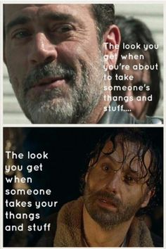 The Walking Dead  #STUFF Rick #THANGS