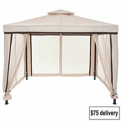 Beach Gear & Pool Products - Briscoes - Deluxe Aluminium & steel Gazebo