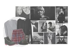 """""""American Horror Story: Murder House"""" by bandqueen ❤ liked on Polyvore featuring Equipment, Abercrombie & Fitch, Timberland, San Diego Hat Co., americanhorrorstory, ahs, violetharmon and tatelangdon"""