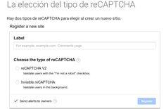 reCAPTCHA invisible lo nuevo de Google