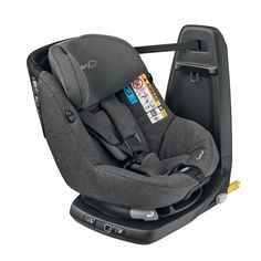 The Maxi-Cosi AxissFix Air Car Seat takes safety to a new level by setting a new standard in car seat safety. It has built-in airbags that give crucial protection to your child head and shoulders. This car seat combines latest i-size safety reg Toddler Car Seat, Baby Car Seats, Black Queen, Siege Bebe, Extended Rear Facing, Air Car, Child Safety, Children, Bugaboo