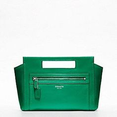 Coach Legacy Collection in Emerald Green