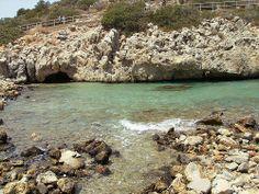 Small beach before Almyros, Agios Nikolaos Explore, Beach, Water, Blue, Outdoor, Gripe Water, Outdoors, The Beach, Beaches