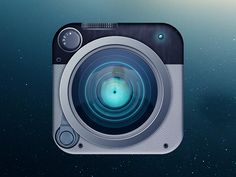 Camera App Icon  by kuldeep singh rathore