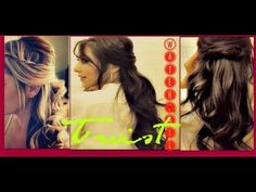 http://www.makeupwearables.com/2012/12/how-to-twist-waterfall-braid-half-up.html  ♥▬▬▬▬▬ஜ♥SUBSCRIBE & Thumbs Up, pretty please ♥ஜ▬▬▬▬▬▬▬♥    Learn how to twist waterfall braid with curls on yourself - your own hair - for short, medium or for long hair, before wrapping it around the head, like a half waterfall braid headband,  in a romantic, bouncy...