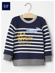 Sailor stripe sweatshirt