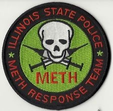 Illinois State Police Badge Law Enforcement Badges