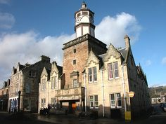 Dingwall Feature Page on Undiscovered Scotland North Highlands, North Coast 500, Past Present Future, Town Hall, Route 66, Lighthouses, Biking, Scotland, The Past