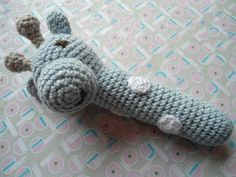 Me and Maya: Sweet crocheted baby rattles. FREE PATTERN 12/14.