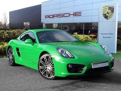 Used 2015 ( reg) Viper Green Porsche Cayman 2.7 PDK for sale on RAC Cars