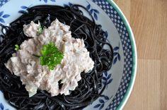Schnelle Thunfisch-Joghurt-Sauce {Salsa rápida de atún con yogur}