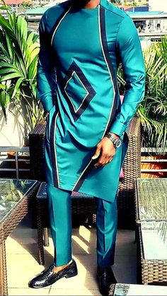 African Male Suits, African Wear Styles For Men, African Shirts For Men, African Dresses Men, African Attire For Men, African Clothing For Men, African Style, Nigerian Men Fashion, African Men Fashion