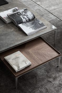 Tray Coffee Table by Rimadesio, designed by Giuseppe Bavuso Discover our collection of modern designer furniture and lighting. Coffee Table Cover, Coffee Desk, Low Coffee Table, Coffee Table Styling, Rustic Coffee Tables, Cool Coffee Tables, Coffee Table Design, Modern Room, Bed Furniture