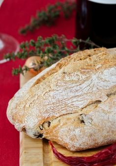 Olivenbrot selbst gemacht