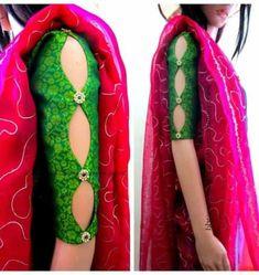 Check out latest stylish trendy kurti sleeves designs 2019 that you can try with kurtis kurtas salwar kameez anarkali suits Kurta Designs, Salwar Suit Neck Designs, Neck Designs For Suits, Back Neck Designs, Fancy Blouse Designs, Kurti Designs Party Wear, Blouse Neck Designs, Full Sleeves Design, Kurti Sleeves Design