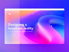 Colorful web site UI designed by Gleb Kuznetsov✈. Connect with them on Dribbble; Screen Cards, Application Design, Ui Web, Site Design, Design Web, Flat Design, Design Ideas, Layout, Landing Page Design