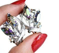 Vintage Lisner Clip On Earrings   Silver Tone by MaejeanVINTAGE, $15.00
