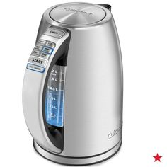 Steep tea to perfection without using the stove! The Cuisinart PerfecTemp Cordless Electric Kettle features six preset temperatures catered to some of the most popular teas. The keep warm function maintains your chosen temperature for 30 minutes. Be sure to add this to your wedding registry at macys.com now!