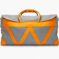 Fancy - Weekend Bag by White Mountaineering