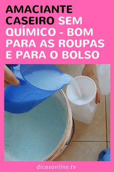 Este amaciante caseiro tem outras vantagens: é superfácil e econômico. Cleaning Hacks, Sweet Home, Kitchen Appliances, Lens, Diy, Demi Lovato, Sober, Home Cleaners, Natural Cleaning Products