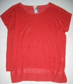 fed9fec056dce Eileen Fisher Linen Solid Plus Size Knit Tops for Women
