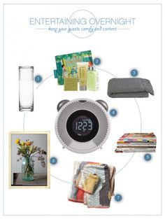 Entertaining Overnight Guests - from http://www.movelifestyle.com