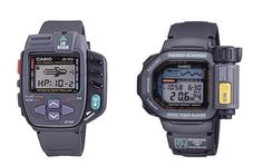 "Classic Casio ""smartwatches"" exhibit now on at Casio Museum - EyeOnMobility Casio G Shock Watches, Retro Watches, Timex Watches, Big Watches, Vintage Watches, Casio Watch, Luxury Watches, Cool Watches, Watches For Men"