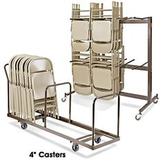 Folding Chair Dollies in Stock - ULINE