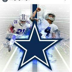 My goal is to someday meet or watch Zeke & Dak at the Dallas Cowboys stadium Dallas Cowboys Quotes, Dallas Cowboys Pictures, Dallas Cowboys Baby, Cowboys Vs, Cowboys Players, Cowboys Stadium, Cowboy Images, How Bout Them Cowboys, Dak Prescott