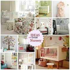 Decorating a small Nursery? Don't let the lack of space cramp your nursery style, you deserve a room that oozes of panache. CLICK for inspiration now http://www.babydeco.co.uk/small-nursery-ideas-for-a-small-nursery/