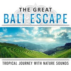 """"""" The Great Bali Escape: Tropical Journey with Nature Sounds Beautiful Sound Scapes Escape the Crowds Feel Totally Relaxed & Happy Inspirational Wonderland"""" by Close to Nature Music Ensemble"""