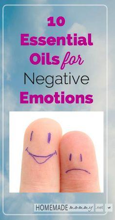 10 Essential Oils for Negative Emotions vert final
