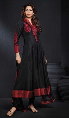G3 Fashions Black Cotton Wedding Wear Designer Salwar Suit  Product Code : G3-LSA104428 Price : INR RS 7878