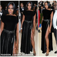 #naomicampbell#model#celebrity#fashion#luxury#glamorous#beauty#style#redcarpet#metgala#black#glitter#highthigh#dress#shorthair#chic#glam#evening#look http://tipsrazzi.com/ipost/1506505601727123184/?code=BToLtzrFM7w