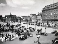 Berlin brandenburger Tor 1935