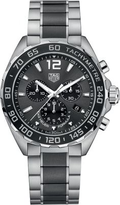 CAZ1011.BA0843 NEW TAG HEUER FORMULA ONE QUARTZ CHRONOGRAPH MENS WATCH IN STOCK- Click to View Dads