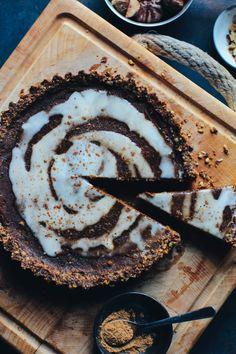 Pumpkin & Chestnut Pie (vegan & gluten free)