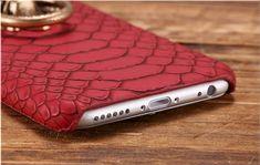 Mcm Iphone 8 Plus Case Luxury Lion Head Fashion Red Leather Kickstand Designer Iphone Case Iphone 11 Pro Case, Iphone 8 Plus, Iphone 7, Apple Iphone, Iphone Cases, Iphone Leather Case, Chrome Hearts, Airpod Case, Plus 8