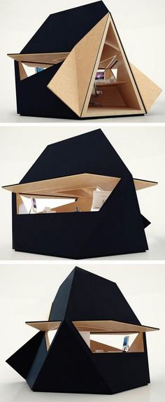 Tetra Shed is a New Modular Building System Designed to be a Modern Garden Office - Interior Design Industry & Technology - Interior Design Industry & Technology Building Systems, Building A Shed, Building Plans, Custom Woodworking, Woodworking Projects Plans, Clutter Solutions, Build Your Own Shed, Shed Kits, Shed Homes