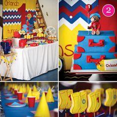 {Party of 5} Minion Birthday, Paddington Bear, Peppa Pig, Peapod Party, Winter Shower