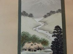 Find many great new & used options and get the best deals for 2x Signed Antique Chinese Watercolour Landscape Paintings Framed  at the best online prices at eBay! Free delivery for many products!