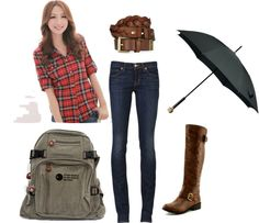 """""""School Outfit"""" by arianajcrane on Polyvore"""