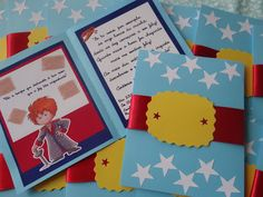 pequeno principe The Little Prince, Party Themes, Party Ideas, Playing Cards, Baby Shower, Scrapbook, Frame, 36, Birthday Ideas