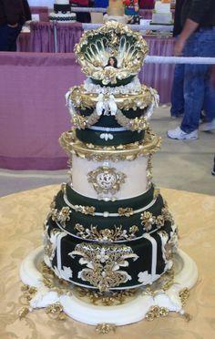 Indian Weddings Inspirations. Amazing Wedding Cake. Repinned by #indianweddingsmag indianweddingsmag.com